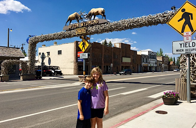 The Ultimate Road Trip to Yellowstone & Jackson Hole WY featured by top US family travel blog, More Than Main Street: Road trip through Afton on the way to Yellowstone
