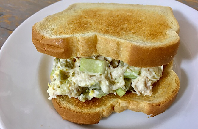 Easy Chicken Salad Recipe featured by top US lifestyle blog, More Than Main Street