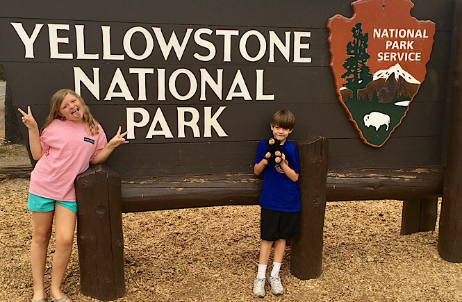 The Ultimate Road Trip to Yellowstone & Jackson Hole WY featured by top US family travel blog, More Than Main Street