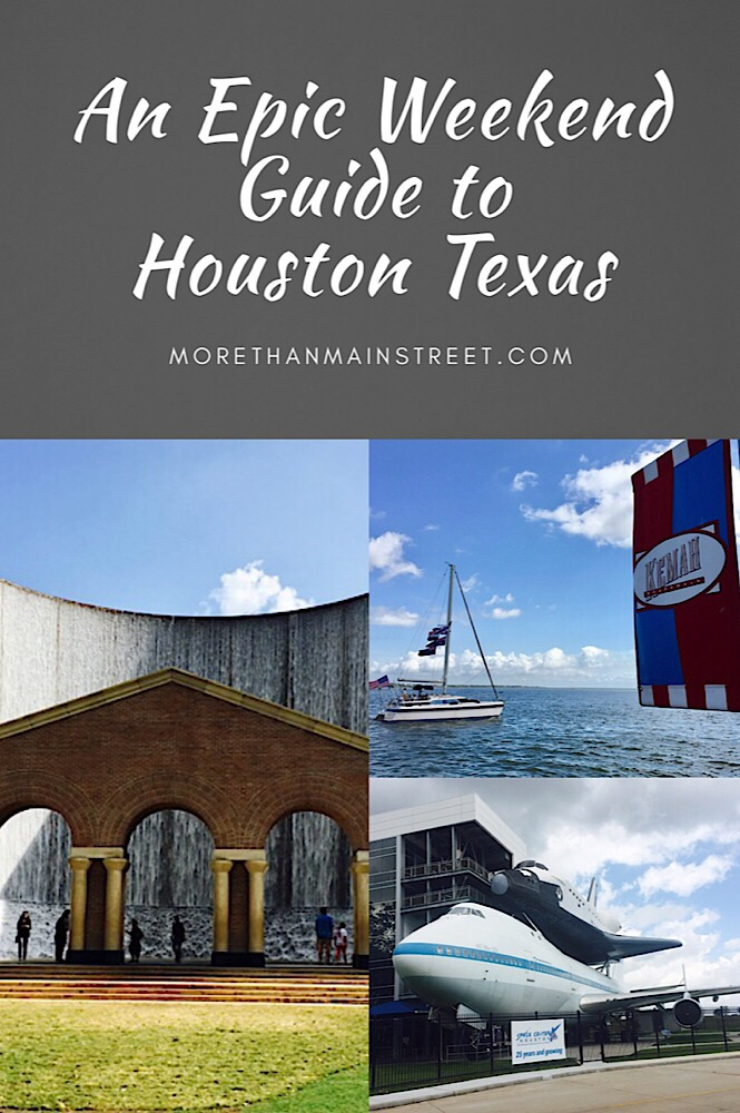 A Weekend in Houston Texas, a guide featured by top US affordable travel blog, More Than Main Street