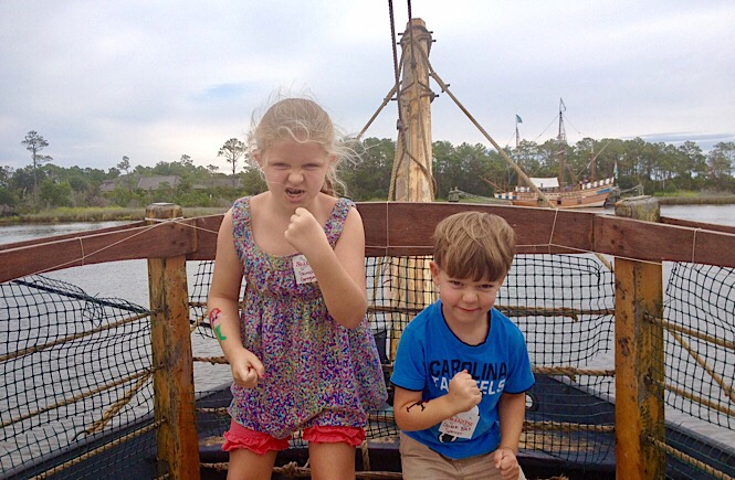 Manteo's Pirate Adventure is the best!