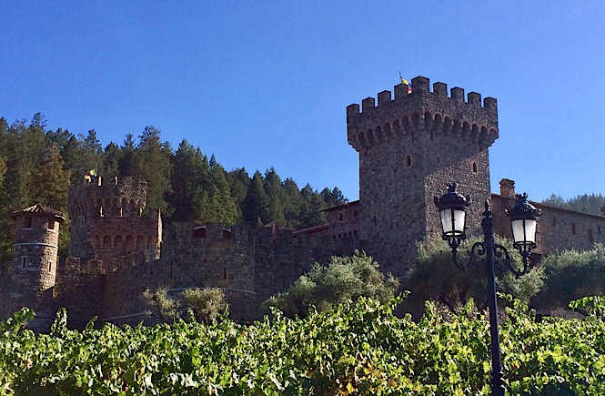 How you can enjoy a day in Napa Valley with kids- Castello di Amorosa Winery