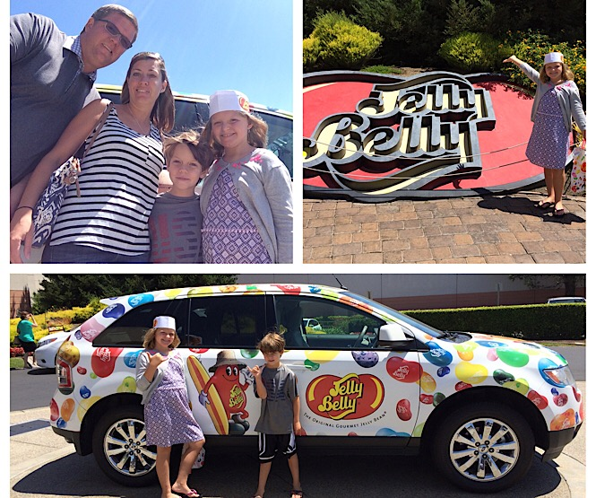 Fun things to do in Napa with kids as featured by top US family travel blog, More than Main Street; Jelly Belly Bean Factory