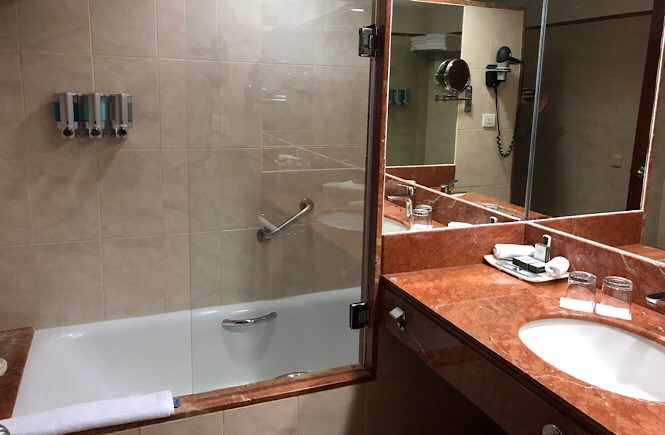Barcelo Maya Caribe and Beach Resort Review featured by top US family travel blog, More Than Main Street: Standard Room at Riviera Maya Barcelo Resort
