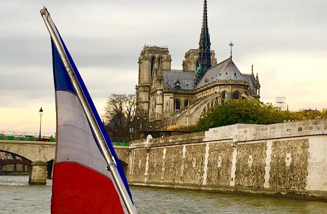 River Seine Paris France hop on/hop off tour