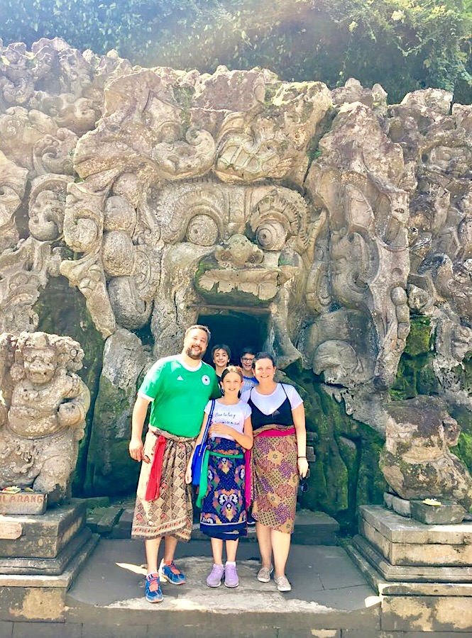 Temple in Bali - Travel Kids Tell All