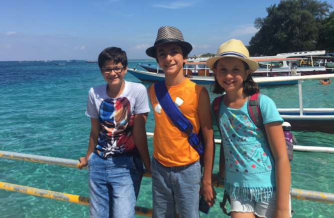 Travel Kids Tell All Bali Edition