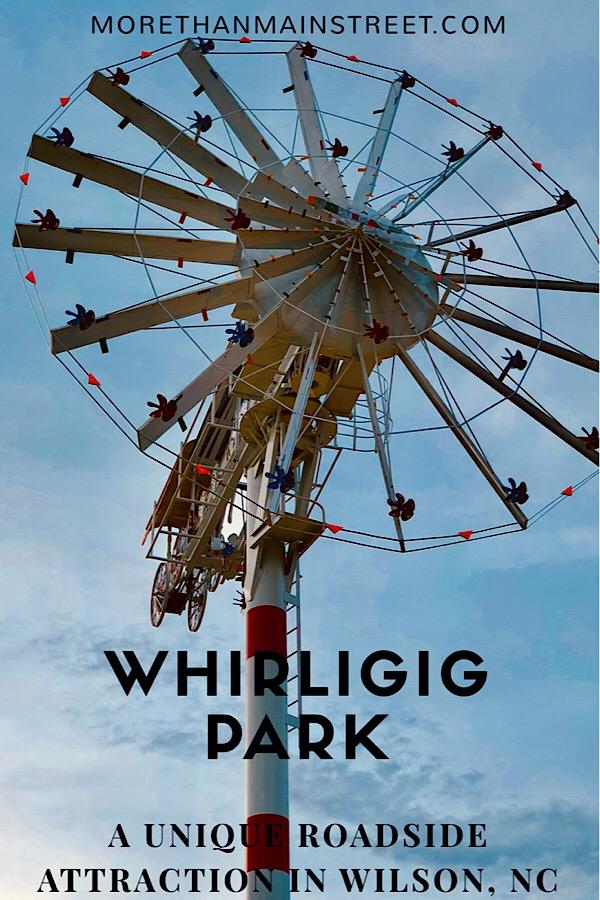 Vollis Simpson Whirligig Park in Wilson NC
