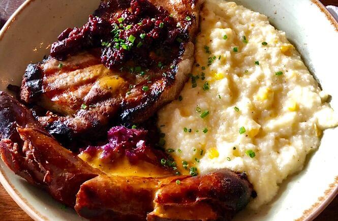 Pork Duo at Tavern & Table in Shem Creek