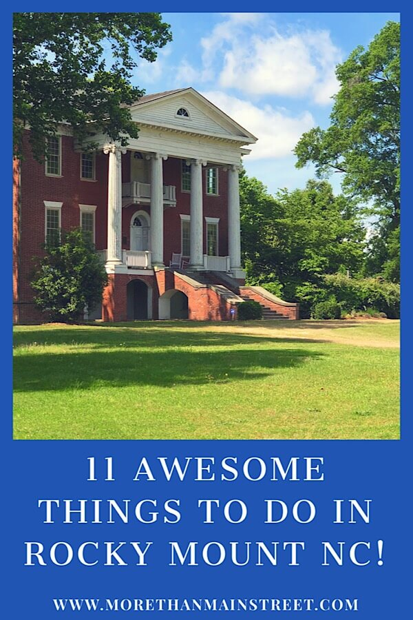 Discover the 10+ Best Things to Do in Rocky Mount NC as featured by top NC family travel blog, More than Main Street; Stonewall Manor in Rocky Mount NC
