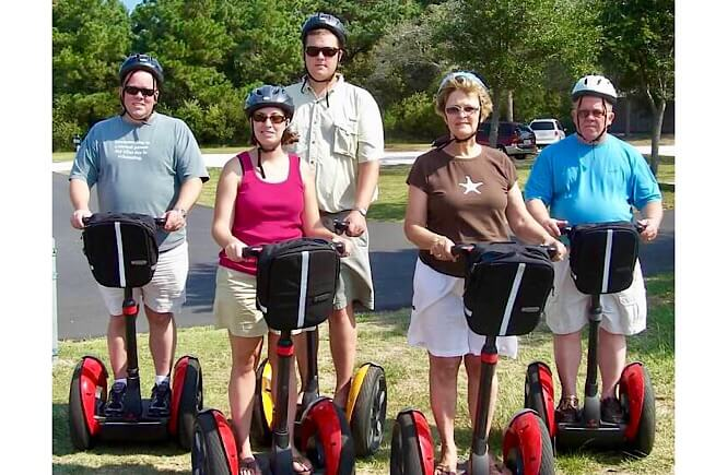 Segway Tour in Corolla NC