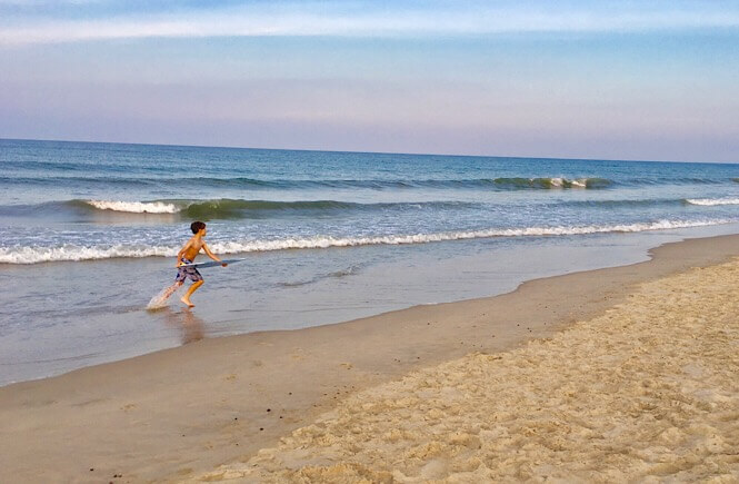 5 Weekend Getaways in NC for Family featured by top NC travel blog, More Than Main Street: Family weekend getaway to the Outer Banks, NC.