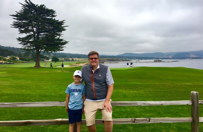 The Ultimate 10 Day California Road Trip Itinerary featured by top US family travel blog, More Than Main Street: Pebble Beach