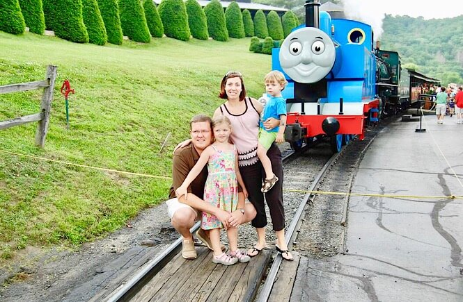5 Weekend Getaways in NC for Family featured by top NC travel blog, More Than Main Street: A weekend in Boone NC at Tweetsie Railroad.