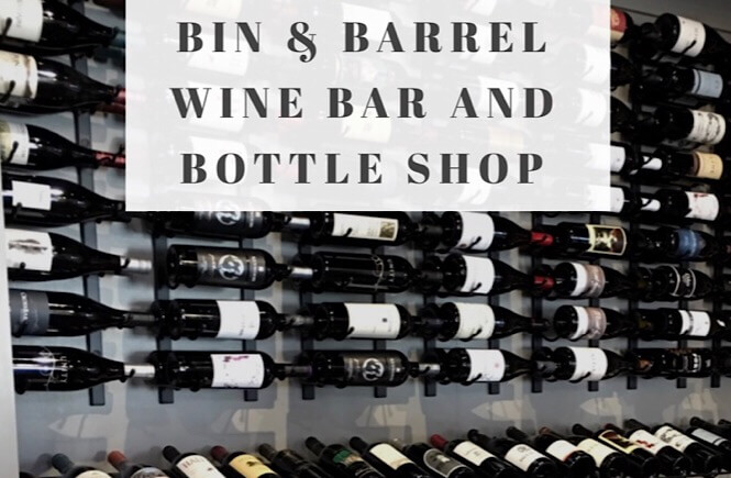 Bin and Barrel Wine Bar and Bottles Downtown Rocky Mount, a review featured by top NC family travel blog, More Than Main Street.