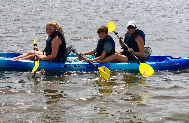 What to do in Wilmington- kayaking the Intracoastal Waterway!