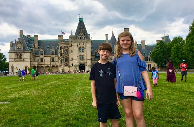 5 Weekend Getaways in NC for Family featured by top NC travel blog, More Than Main Street: Family fun in Asheville NC at the Biltmore Estate.