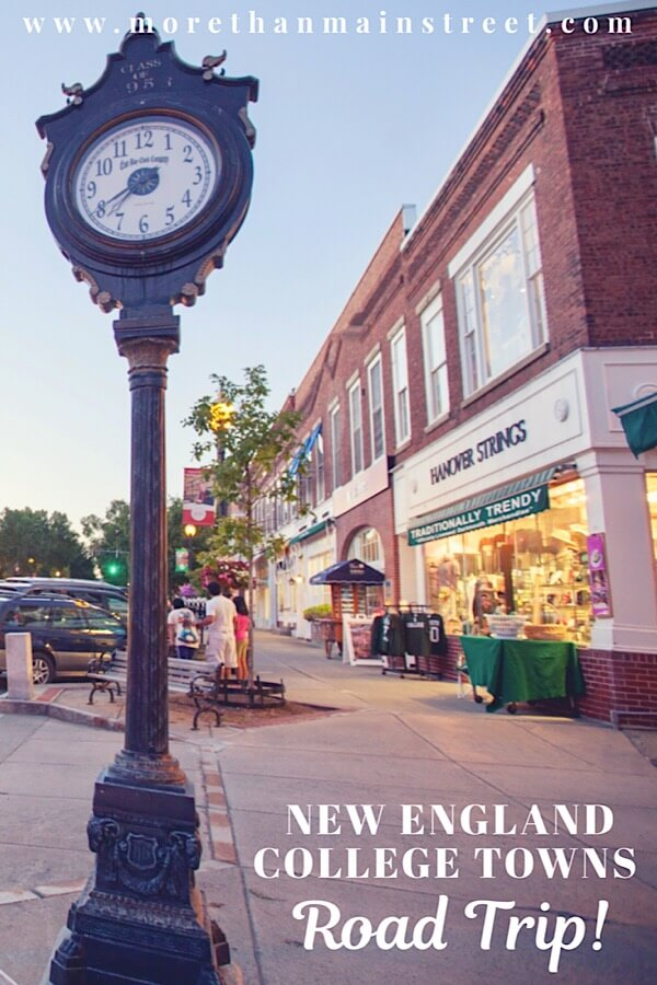 The best New England Road Trip Itinerary- College Towns tour featured by top US travel blog, More than Main Street.