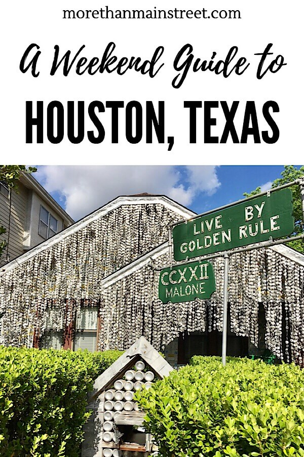 A Weekend in Houston Texas, a guide featured by top US affordable travel blog, More Than Main Street: Searching for things to do in Houston Texas? Our weekend guide shares what to do with kids, where to eat, and more! #houston #texas #usa