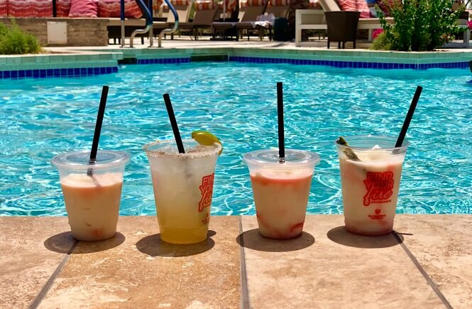 2 Week Utah Arizona road trip featured by top US family travel blog, More Than Main Street: image of A little R & R at the Phoenician Resort in Scottsdale Arizona!