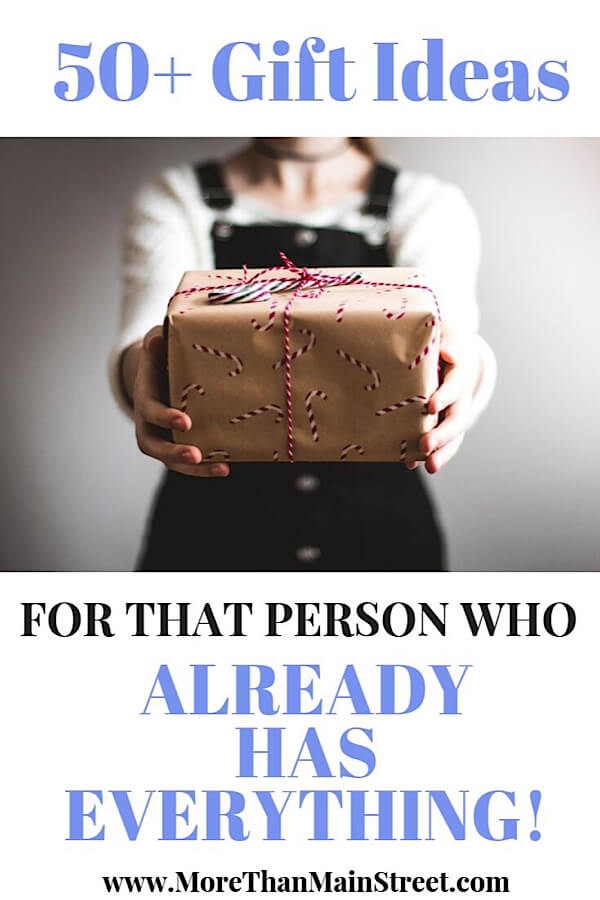 What To Get Someone Who Has Everything: 50+ Of The Best Experience Gift Ideas Ever as featured by top US life and style blog, More Than Main Street.
