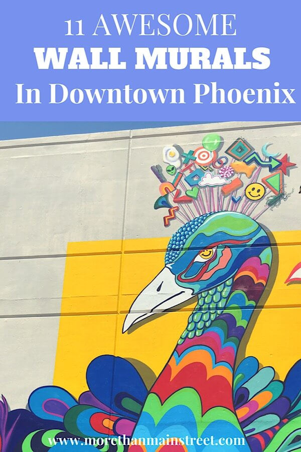 Phoenix Street Art: 11 Incredible Roosevelt Row Murals featured by top US travel blog, More than Main Street.