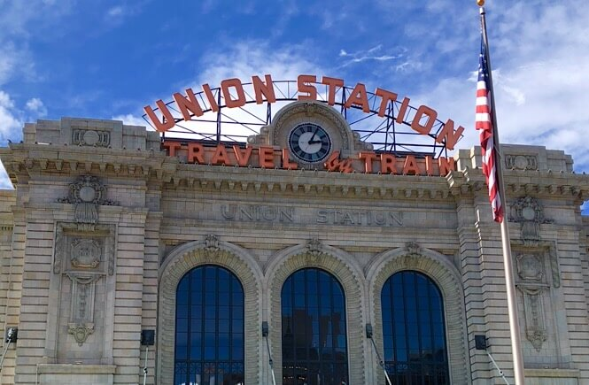 The Ultimate Denver Itinerary featured by top US family travel blog, More Than Main Street: Iconic Union Station Denver Colorado