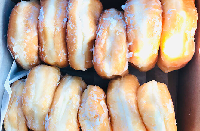 Top US family travel blog, More than Main Street features their complete guide to restaurants in Rocky Mount NC; Anne's Donuts.