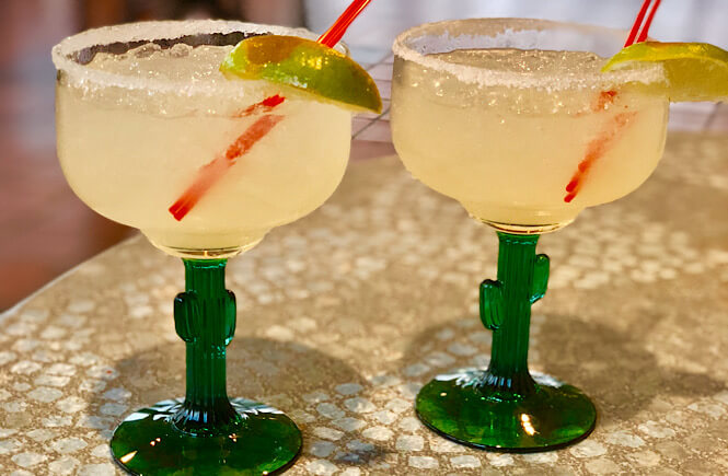 Top US family travel blog, More than Main Street features their complete guide to restaurants in Rocky Mount NC; margaritas from Chico's.