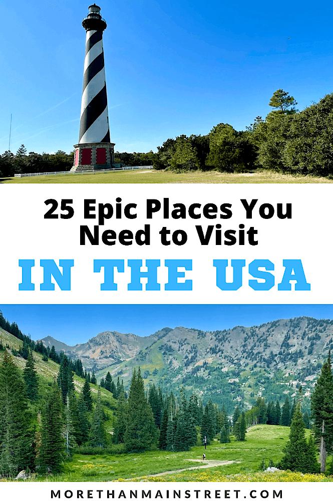 The Ultimate USA Bucket list Adventures!