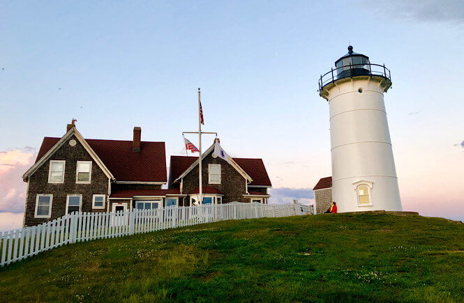 The Ultimate US Bucket List: 25 Epic Adventures to Experience in the USA featured by top US travel blog, More Than Main Street: Nobska Lighthouse in Woods Holes, Massachusetts