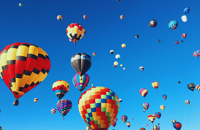 The Ultimate US Bucket List: 25 Epic Adventures to Experience in the USA featured by top US travel blog, More Than Main Street: Albuquerque Hot Air Balloon Festival