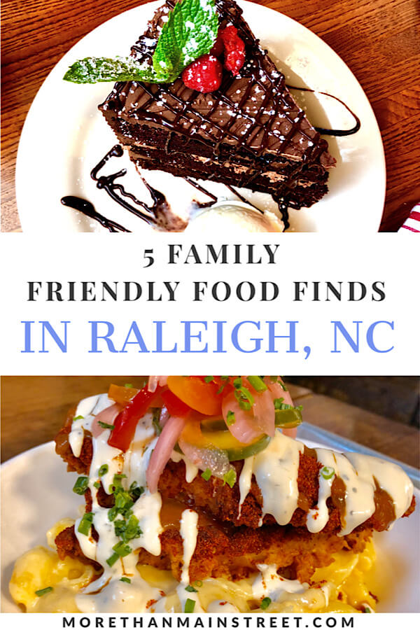 Top 5 Best Family Restaurants in Raleigh NC as featured by top NC travel blog More than Main Street.