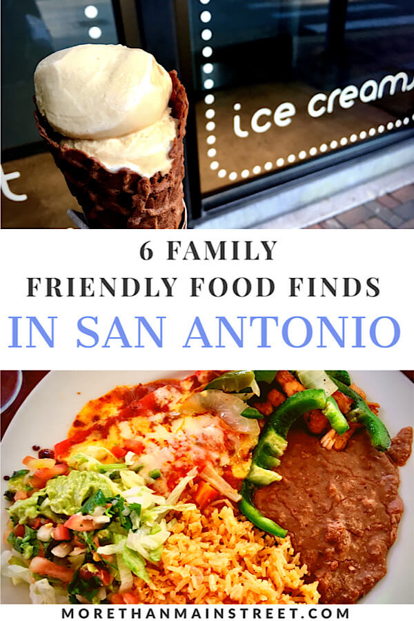 Fun places to eat in San Antonio TX featured by top US family travel blog, More Than Main Street.