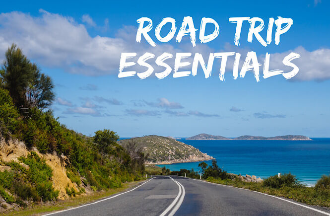 Family Road Trip Essentials checklist featured by top US family travel blog, More than Main Street.
