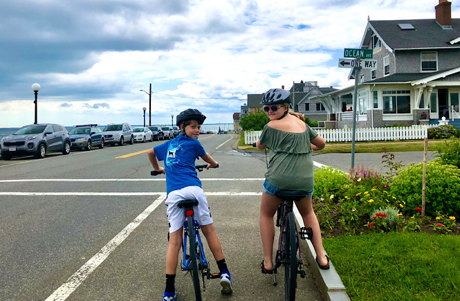 A perfect day trip to Martha's Vineyard from Falmouth featured by US family travel blog, More than Main Street.