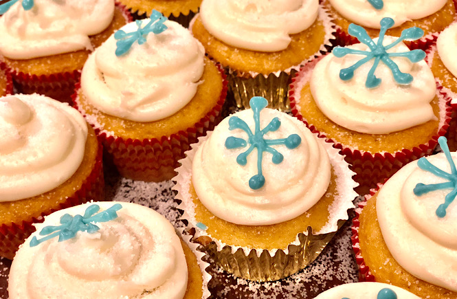 Top 10 Stay At Home Adventures for Your Family featured by top lifestyle and US travel blog, More than Main Street: make cupcakes.