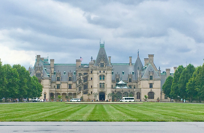 The ultimate North Carolina road trip itinerary showcasing the top 10 best cities to visit featured by top US travel blog, More than Main Street; The Biltmore Estate in Asheville, NC.