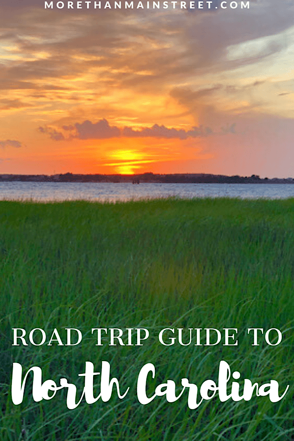 The ultimate North Carolina road trip itinerary showcasing the top 10 best cities to visit featured by top US travel blog, More than Main Street: sunset view from Fort Fisher.