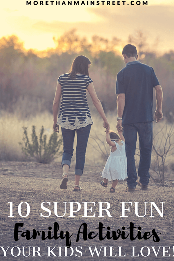 Top 10 Stay At Home Adventures for Your Family featured by top lifestyle and US travel blog, More than Main Street;