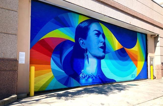 Must See Durham NC Wall Murals & Street Art featured by local NC travel blog, More than Main Street- Mexican Modernism Mural.