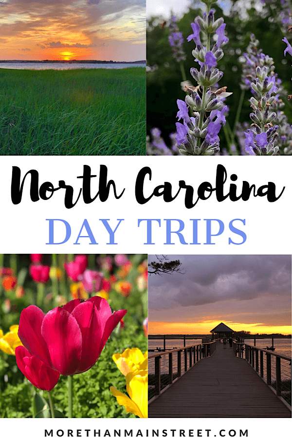 Over 25 of the best day trips from Raleigh NC as featured by top NC travel blog, More than Main Street,