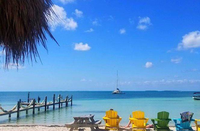 Islamorada Florida is one of the best beaches on the east coast for families featured by top US travel blog, More than Main Street.