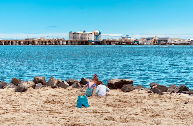 Family friendly Ocean City Maryland is a super kid friendly beach featured by top US travel blog, More than Main Street.