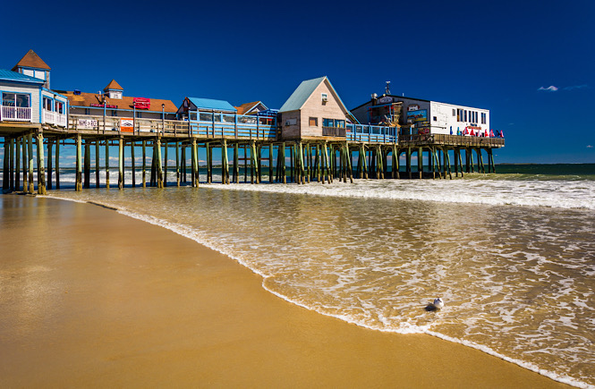 Old Orchard Beach in Maine is one of the best beaches on the east coasts for families featured by top US travel blog, More than Main Street.