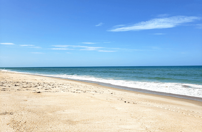 Titusville Florida- along America's spacecoast- is a super family friendly beach!