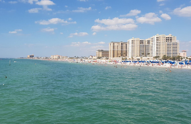 Clearwater Beach Florida is one of the best family friendly beaches on the east coast featured by top US travel blog, More than Main Street.