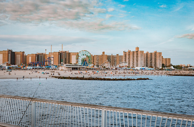 Coney Island New York: One of the Best Family Beaches on the East Coast featured by top travel blog More than Main Street.