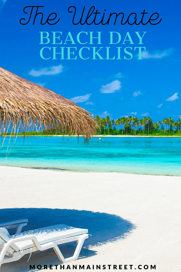 The ultimate list of what to bring to the beach featured by top US travel blog, More than Main Street.