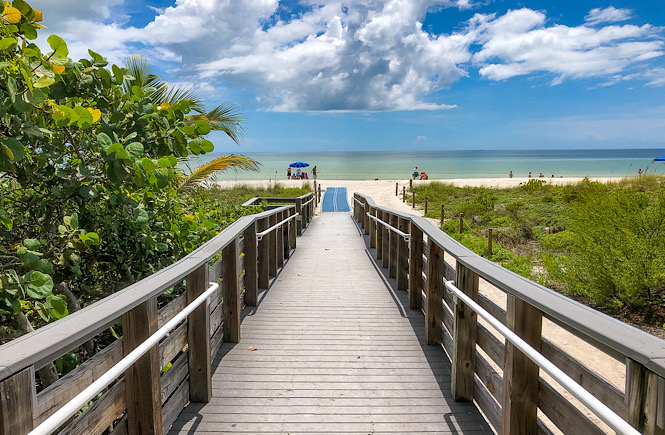 Sanibel Island Florida is one of the best warm places to visit in December in the USA!
